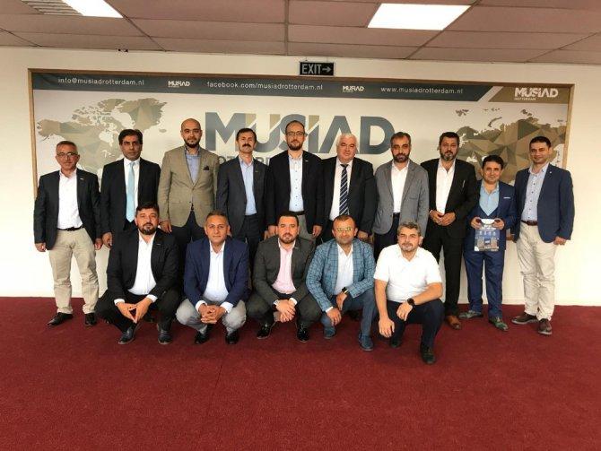 MÜSİAD Konya'dan Avrupa çıkarması