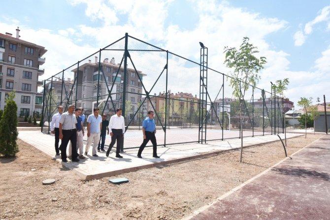 Karatay Belediyesinden 8 bin metrekarelik yeni park