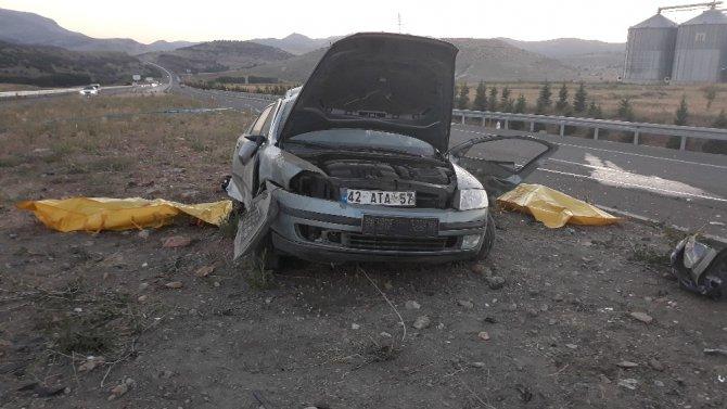 Karı koca kazada hayatını kaybetti, yakınlarını polis teselli etti
