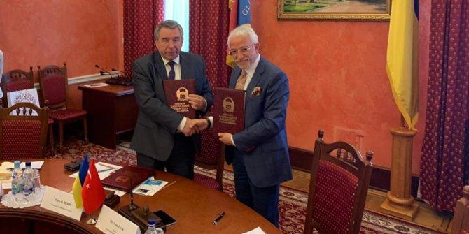 NEÜ, Ukrayna'da 2 üniversite ile protokol imzaladı
