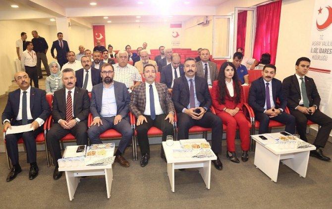 Aksaray'da 'Göç Kurulu Toplantısı' yapıldı