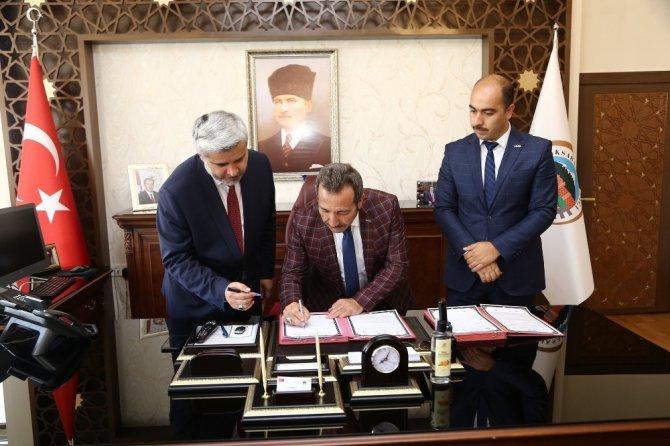 Aksaray'da OSB-Üniversite işbirliği protokolü imzalandı