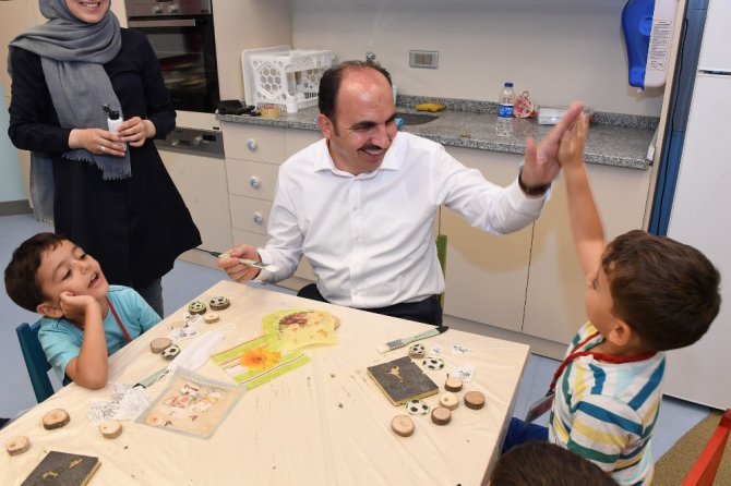 """Başkan Altay: """"Çocuklarımızı geleceğin Türkiye'si için yetiştiriyoruz"""""""