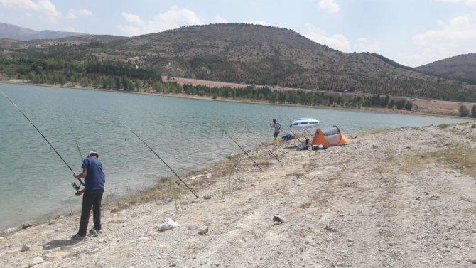 Baraj gölünde av denetimi