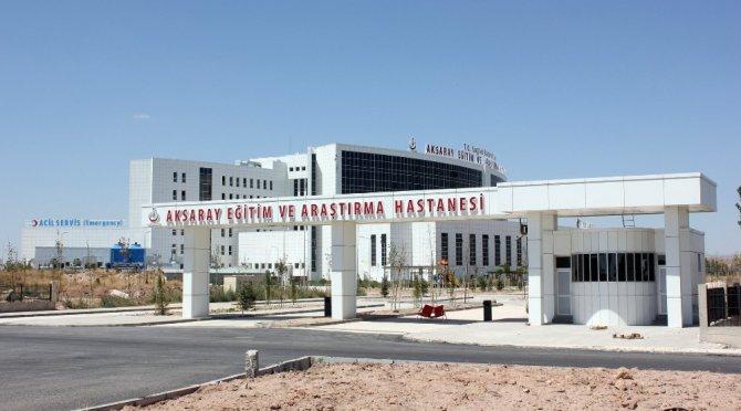 Aksaray Eğitim ve Araştırma Hastanesi 6 ayda 636 bin 570 hastaya sağlık hizmeti verdi