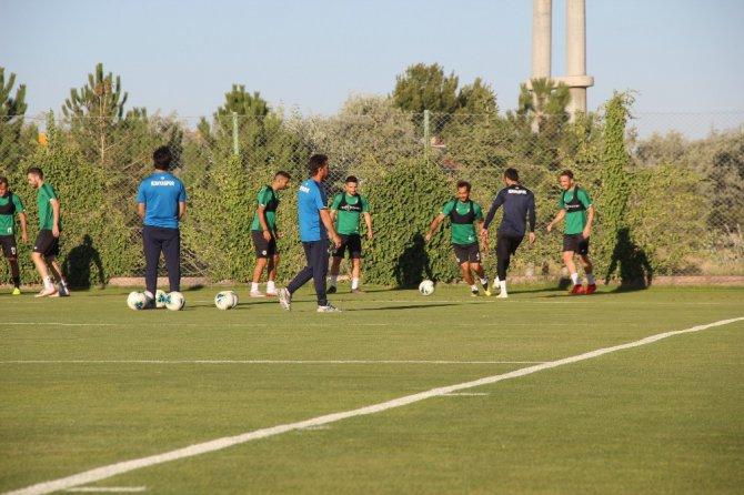 Konyaspor, Ankaragücü maçı hazırlıklarına başladı