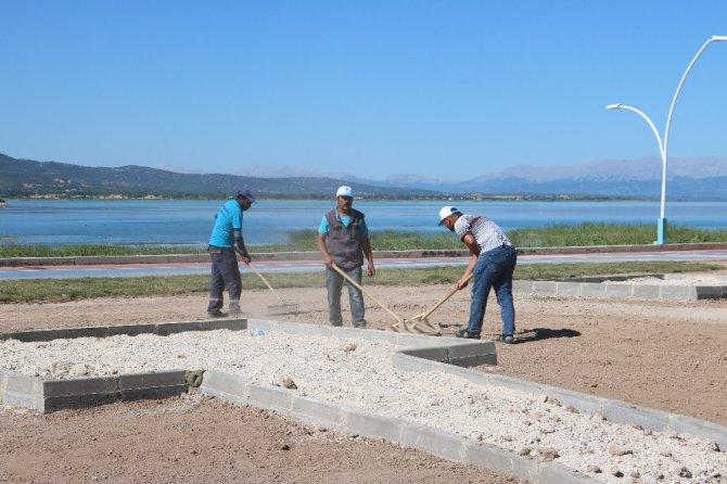 Beyşehir Gölü kıyı şeridinde düzenleme çalışmaları