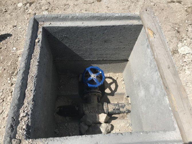 Aksaray'da köylerde içme suyu şebekesi çalışması tamamlandı