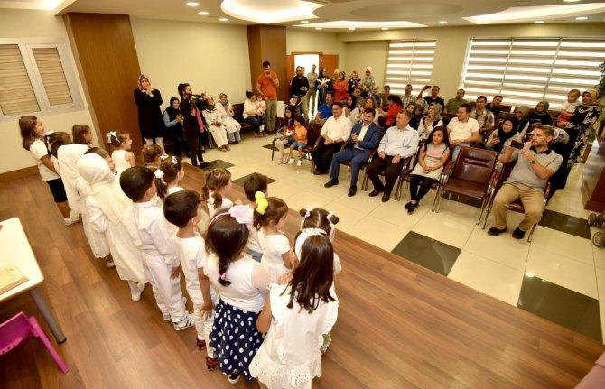 Başkan Kılca, minik öğrencilerin mutluluğuna ortak oldu