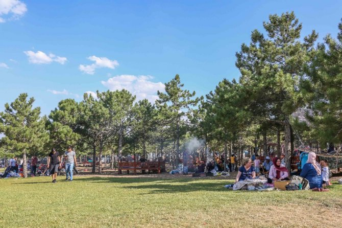 Meram Millet Bahçesi'ni 460 bin kişi ziyaret etti