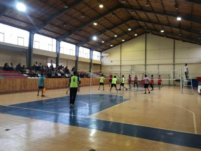 Ilgın Kaplıcaları Voleybol Turnuvası başladı