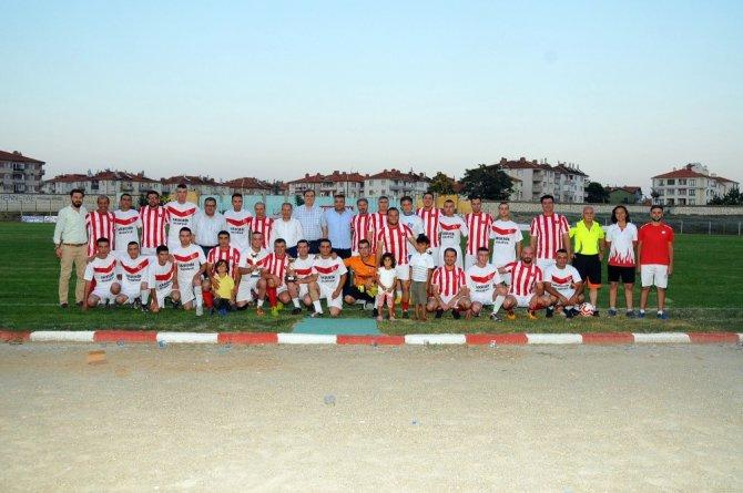 Akşehir'de tarihi maç yeniden canlandırıldı