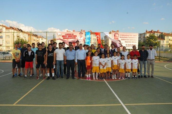 Akşehir'de 5. Geleneksel 3x3 Sokak Basketbolu heyecanı başladı