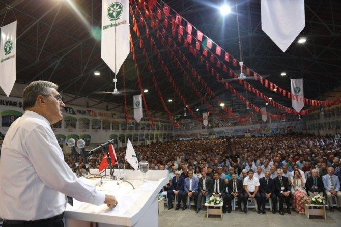 Konya Pancar Ekicileri Kooperatifi Genel Kurulunu yaptı