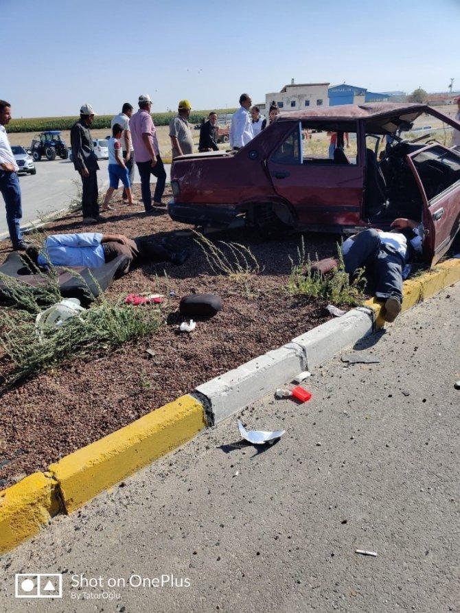 Aksaray'da trafik kazası: 5 yaralı