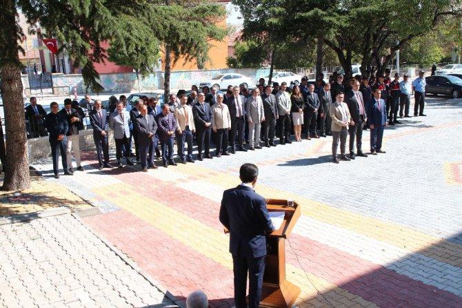Yunak'ta Gaziler Günü etkinliği