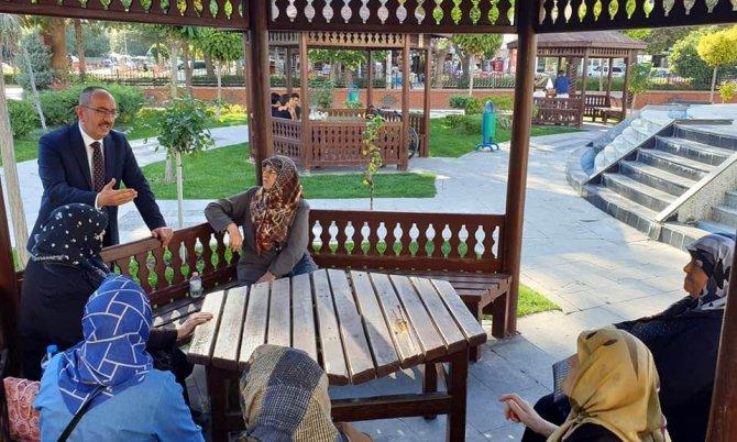 Başkan Kavuş mahalle ziyaretlerine devam ediyor
