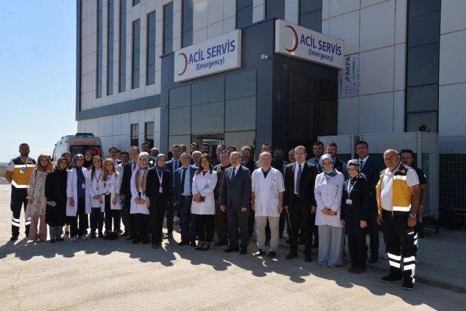 Konya İl Sağlık Müdürü Koç sağlık kuruluşlarını ziyaret etti