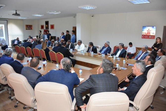 Emniyet Müdürü Karabağ'a veda programı