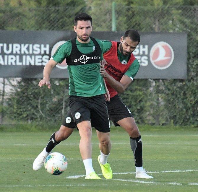 Konyaspor'da hazırlıklar yeniden başladı