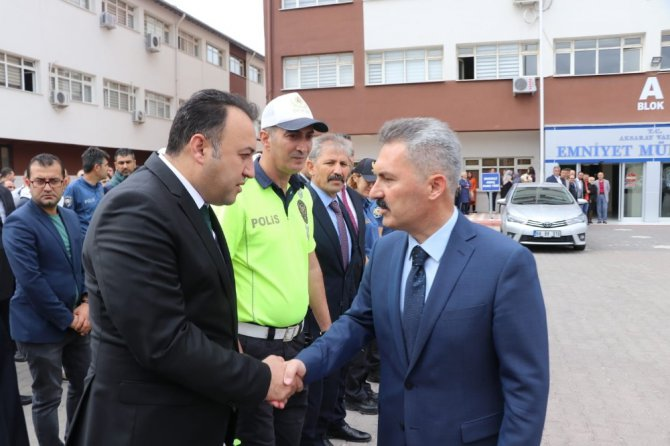 Van İl Emniyet Müdürlüğüne atanan Ali Karabağ, Aksaray'a veda etti