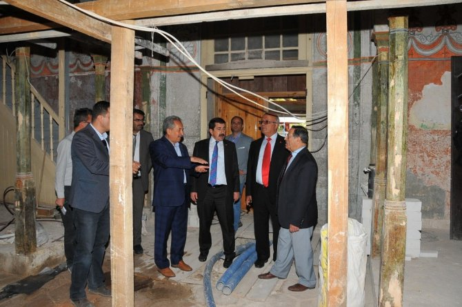 Hasan Paşa İmaret Cami restorasyonunda son aşamaya gelindi
