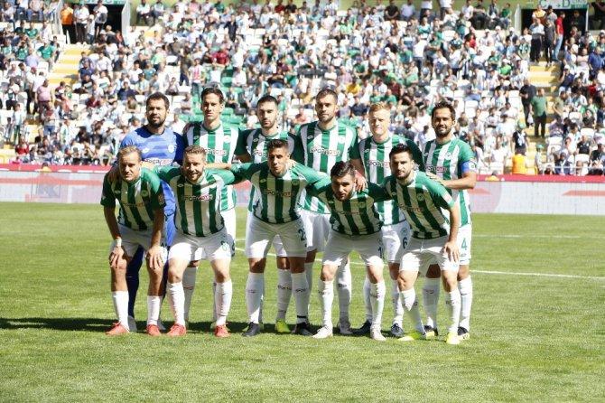 Süper Lig: Konyaspor: 1 - İstikbal Mobilya Kayserispor: 1 (İlk yarı)