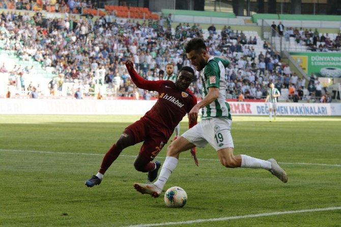 Süper Lig: Konyaspor: 2 - İstikbal Mobilya Kayserispor: 1 (Maç sonucu)