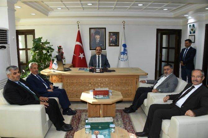 Başkan Altay'dan Tuzlukçu ve Akşehir'e ziyaret