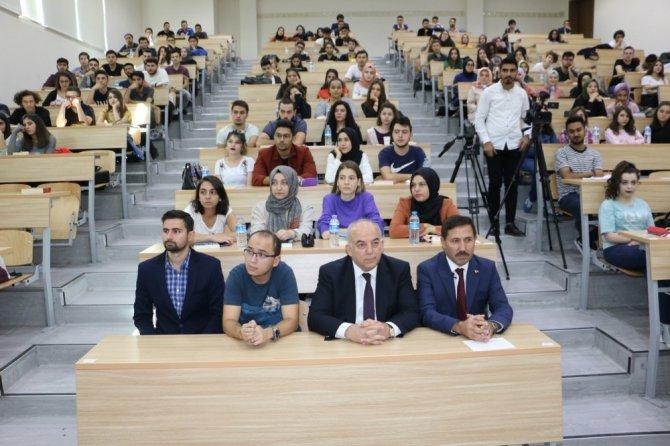 KTO Karatay'da hukuk öğrencilerine ilk ders Başkan Kılca'dan