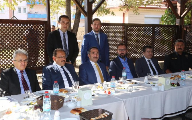 Aksaray'da aylık değerlendirme toplantısı yapıldı