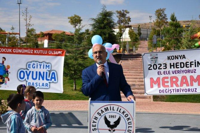 Konya'da Dünya Çocuk Günü kutlamaları gerçekleştirildi