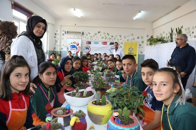 """Konya Büyükşehir'den """"Kendimle Mutluyum Okulumu Seviyorum"""" projesi"""