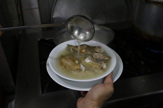 Şifa deposu; kelle paça çorbası