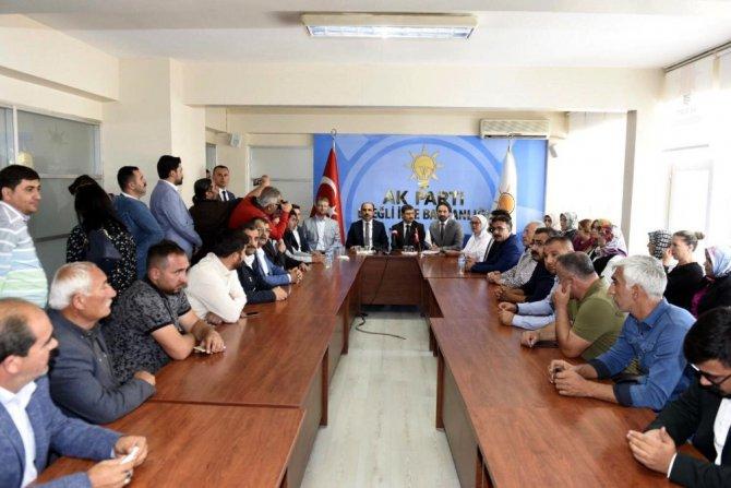 """Başkan Altay: """"Büyükşehir olarak her zaman ilçelerimizin yanındayız"""""""