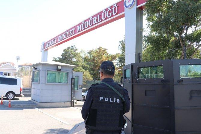 Aksaray Emniyeti, Barış Pınarı Harekatı kapsamında güvenlik tedbirlerini artırdı