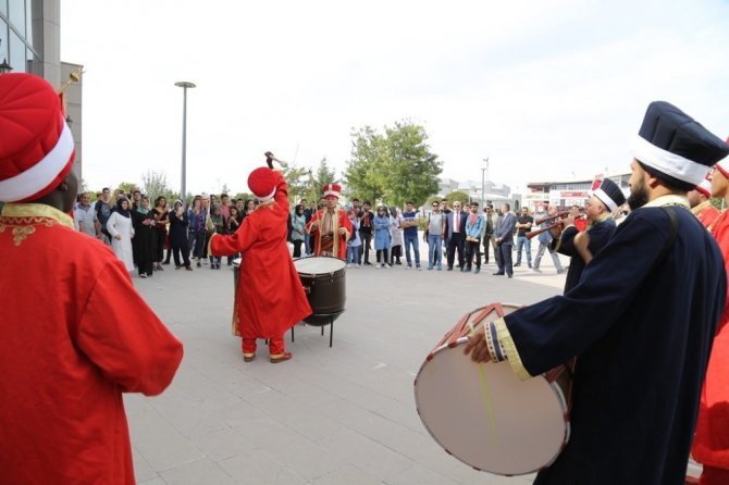 ASÜ mehter takımından mini konser