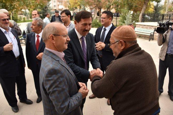 Başkan Kılca esnaf ve vatandaşlarla buluştu