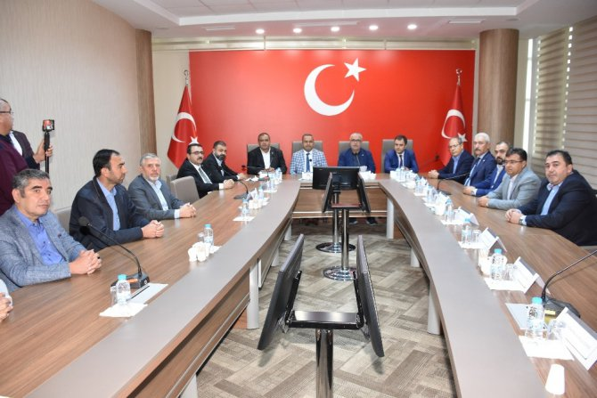Aksaray'da STK'lardan Barış Pınarı Harekatı'na destek