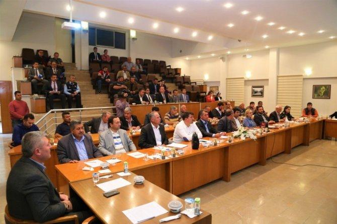 Ereğli Belediye Meclisinden Barış Pınarı Harekatı'na tam destek