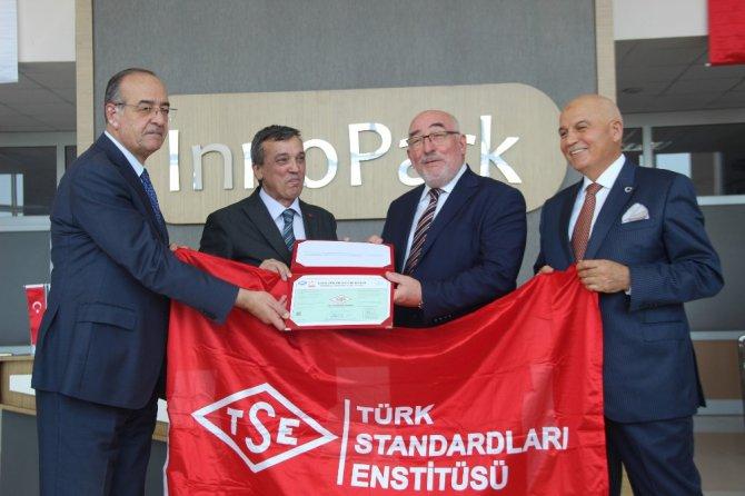 TSE Başkanı Şahin, Konyalı firmalara belgelerini verdi