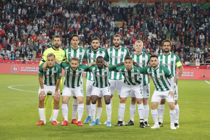 Süper Lig: Konyaspor: 0 - Yeni Malatyaspor: 1 (İlk Yarı)