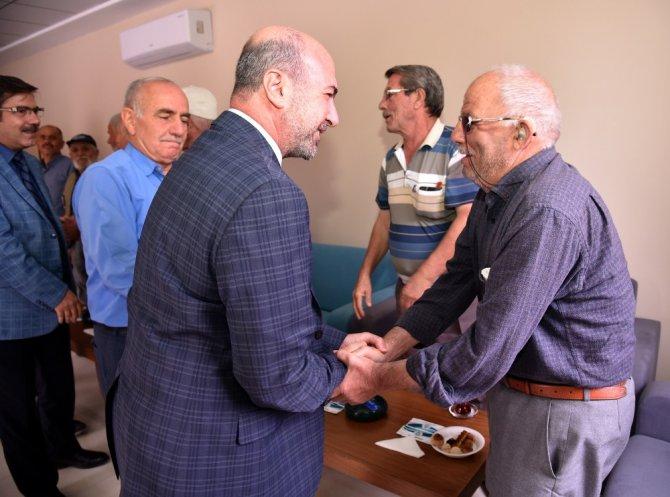 Başkan Pekyatırmacı'dan Akşemsettin Emekli Lokaline ziyaret