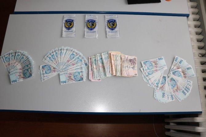 Konya'da sahte para operasyonu: 2 gözaltı