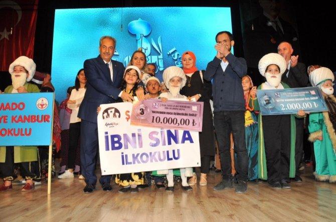 Akşehir'de Fıkra Canlandırma Yarışması Türkiye Finali yapıldı