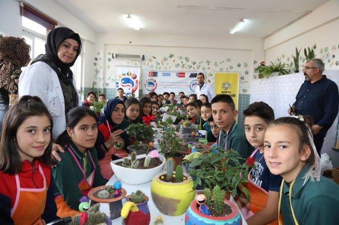 Konya'da öğrenciler tarımla özgüven kazanacak