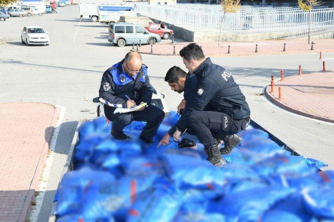 Konya Büyükşehir Belediyesinden kaçak kömür denetimi