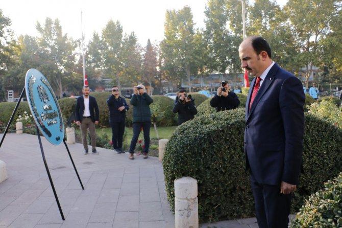 Konya'da ebediyete intikalinin 81. yıl dönümünde Atatürk törenle anıldı