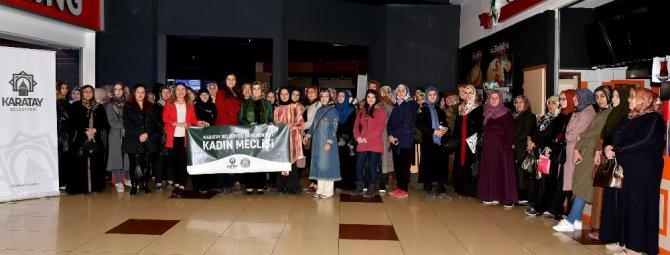 Karatay Belediyesinden sinema etkinliği