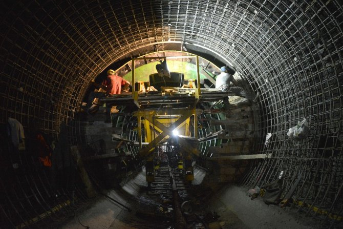 KOP'un ikinci tünelinde 4 bin 901 metre ilerleme sağlandı